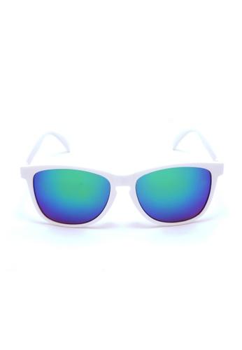2i's to eyes white and green 2i's Sunglasses - NitaG 2I983AC87OZGHK_1