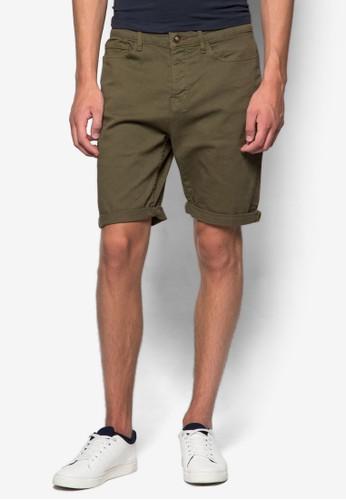 反褶休閒短褲, 服飾, esprit 台中服飾