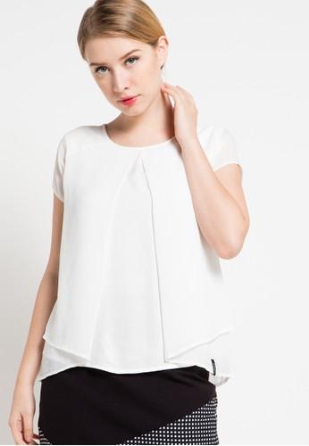 X8 white Amira Blouse X8323AA40DQPID_1