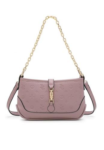 Swiss Polo purple Casual Shoulder Bag 1E8EAACE315BEFGS_1