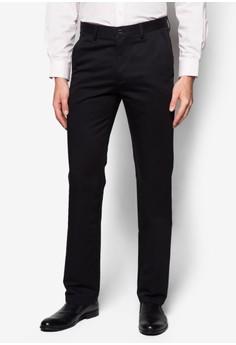 Flat Front Infinite Cotton Pants