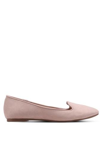 Dorothy Perkins pink Blush Microfibre Panda Slipper Flats 613FBSH0622AB5GS_1