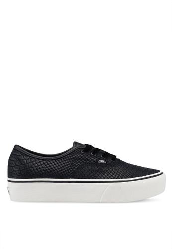 9b27733ca241 Buy VANS Authentic Platform 2.0 Leather Sneakers Online on ZALORA Singapore