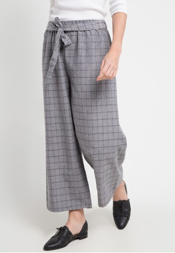 SIMPLICITY black and multi Cropped Culotte 1B0B2AAFAFDA4AGS_1