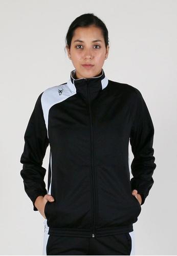 AMNIG black Unisex United Poly Jacket AM133SE44QWHMY_1