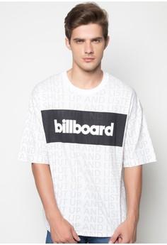 Billboard High-Low Tee