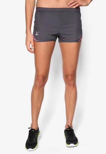 FBT grey and pink Running Shorts FB961AA00IKPMY_1