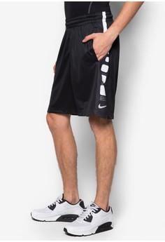 AS Nike Elite Stripe Basketball Shorts