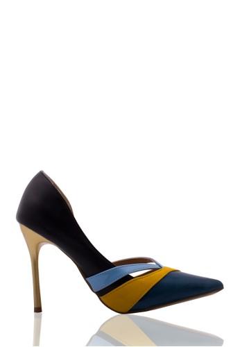 Sepatu Wanita High Heel Black Deep Sea