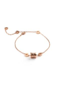 14cf90f329c CELOVIS gold Bernadette Spring Roman Numeric Classic Lux Rose Gold Bracelet  37C10AC95EF0A8GS_1