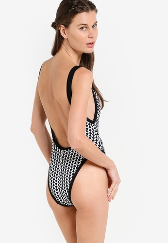 Piha black Road Block Tank Swimsuit PI734US36DBNMY_1