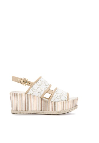Geox white Sakely Sandal 5189BSH9DDFDCCGS_1