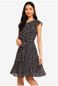 c5c886cec70c9 Dorothy Perkins black Black Multi Floral Dress 20805AAAE9E317GS_1