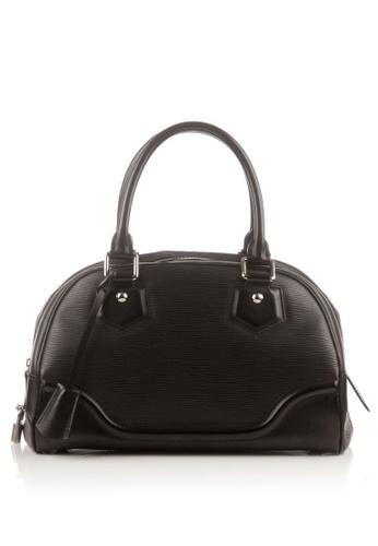 Louis Vuitton black Preloved Black Epi Bowling Montaigne B499EAC6754B43GS_1