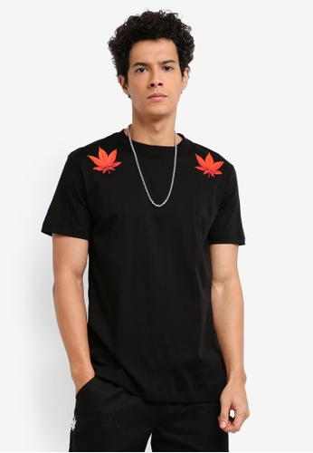 Stoned & Co black UIP X Descendant T-Shirt 158BCAA97B0EB3GS_1