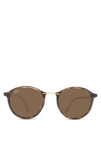 Ray-Ban brown RB4242 Sunglasses RA896GL24CXJMY_1