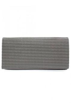 Weave Design Long Wallet
