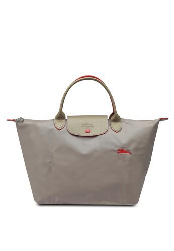 LONGCHAMP brown Le Pliage Club Top Handle Bag M (zt) AB5BBAC8A1A780GS_1