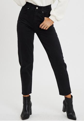 Calli black Hudson Mom Jeans D3DF5AA73DEE26GS_1