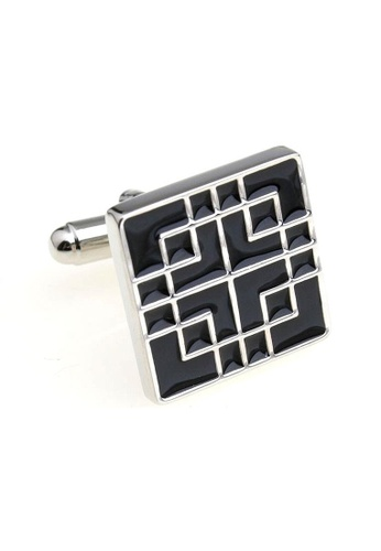 The Little Link Cufflinks black Black Zen Cufflinks TH089AC42QIJSG_1