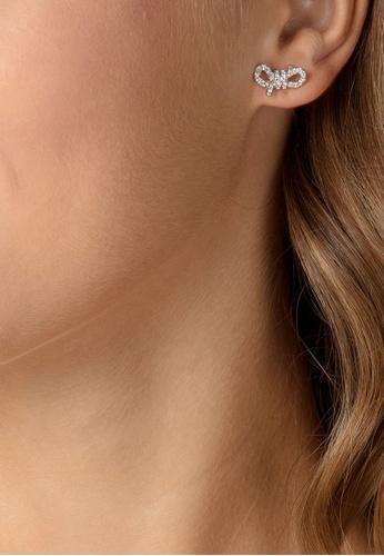 Lifelong Bow Pierced Small Earrings