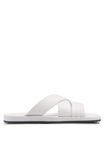 ALDO white Agreillan Sandals ABDE7SHEDED045GS_1