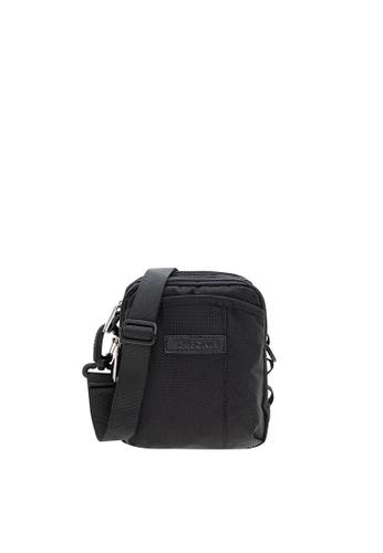 SEMBONIA black SEMBONIA Men Compact Shoulder Bag (Black) FDF97ACC9F22C7GS_1