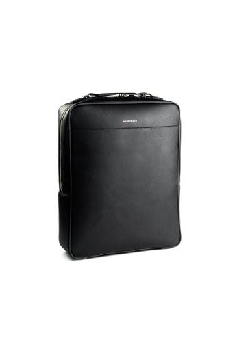 Maverick & Co. black Maverick & Co. Metropolitan Leather Backpack Black 5C399AC657452AGS_1
