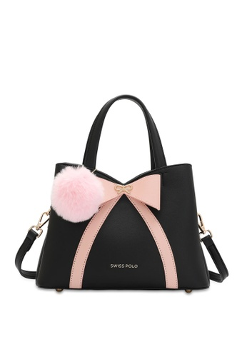 Swiss Polo black Casual Top Hand Bag 5608BAC572B2D1GS_1