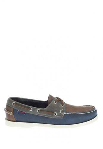Sebago navy Men's Spinnaker Boat Shoes SE328SH0IW4FPH_1