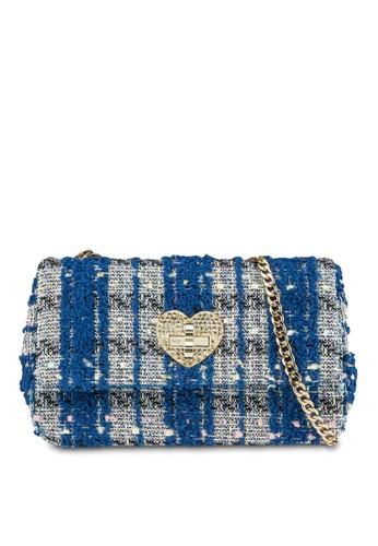 金飾多色針織手提包, esprit 品牌包, 飾品配件
