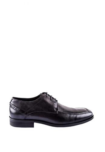 Otto black Derby Shoes 75E67SHE0298B1GS_1