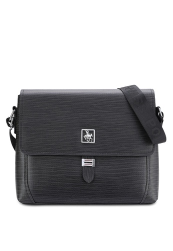 Swiss Polo black Swiss Polo Messenger Bag SW912AC54MURMY_1