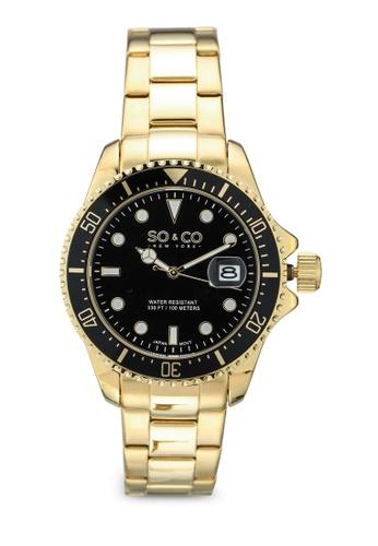 SO&CO black Yacht Timer 5347 FBD00AC29E3176GS_1