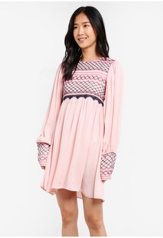 4328edd13930 ... Jumpsuit RM 753.80 NOW RM 263.90 Sizes 4 · Free People pink Late Night  Picnic Dress FR659AA0SD0SMY 1