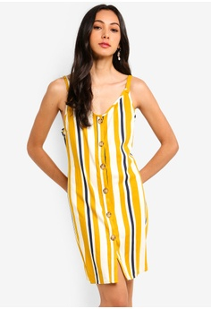 9235c21bec4 Cotton On yellow Woven Margot Slip Dress 35F7BAA7537CE9GS 1