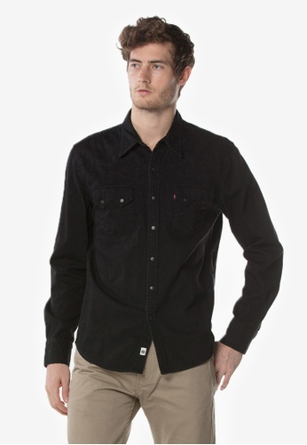 28b364bbea Shop Levi s Mens Sawtooth Western Shirt Online on ZALORA Philippines