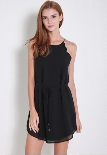 Leline Style black Thandie Dress LE802AA16LTRSG_1