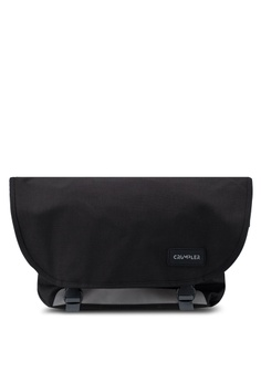 27ccc23b3a04 CRUMPLER black Comfort Zone Large Messenger Bag 4E5D2AC61D6455GS 1