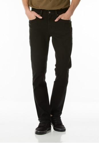 Levi's Commuter 511 Slim Fit Jeans - Black 4X Cm