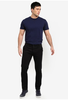 9dbca395325c Topman Black Slim Chinos S  59.90. Sizes 30S 34R