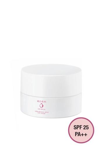 SENKA Senka Junpaku White Beauty Glow UV Cream SPF 25 PA++ 50g F725DBE1601B9AGS_1