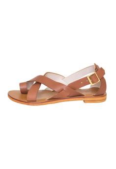 Genuine Leather Sandals Demi