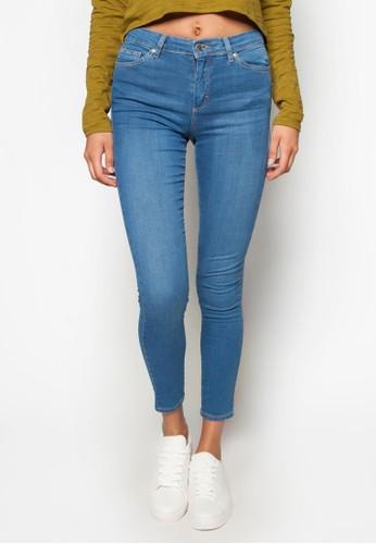 Motozalora時尚購物網的koumi koumi 窄管貼身 Leigh 牛仔褲, 服飾, 牛仔褲