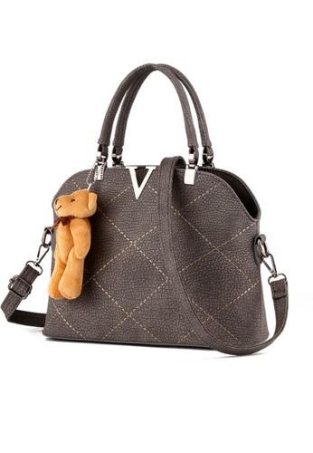 TCWK grey Ladies Handbag TC258AC0RFOFMY_1