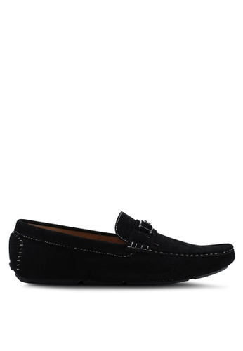 High Cultured black Velvet Loafers-335 09F2CSH3F5F278GS_1