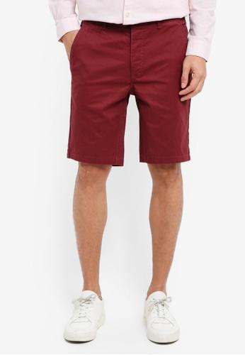 River Island 紫色 Taylor Chino Shorts 29706AAE80E835GS_1