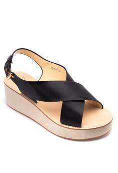 Tiffany Wedge Sandals