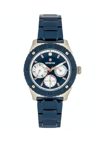 Expedition navy Expedition Jam Tangan - Blue Gold - Stainless Steel - 6759 BFBCUBU 4380EAC4EC33EFGS_1