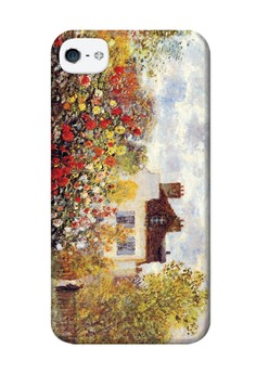 Painted Garden Matte Hard Case for iPhone 4,4s